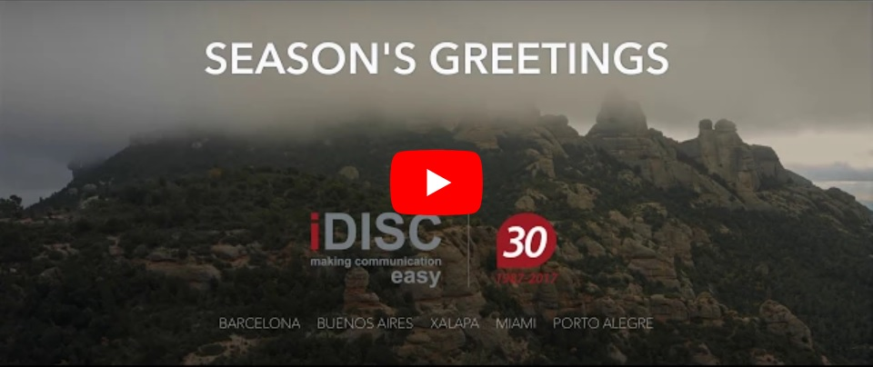 iDISC Christmas Card 2017